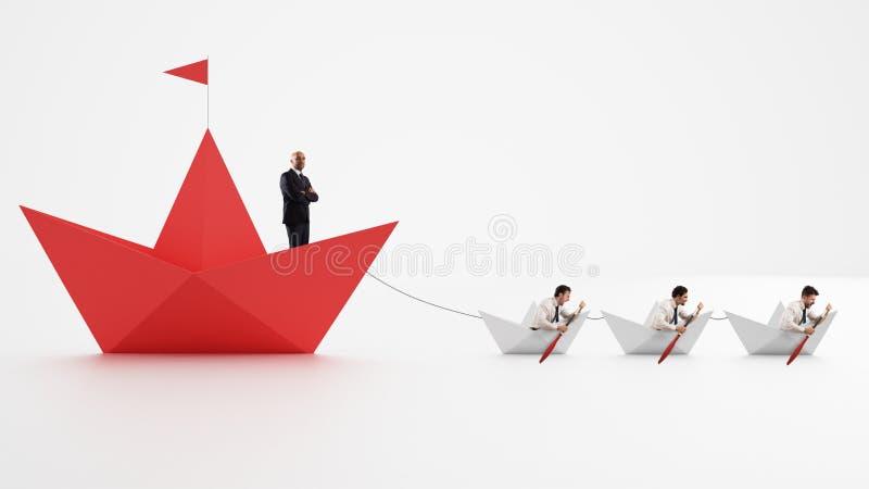 Всеединство прочность Работники которые делают компанию пойти вперед Концепция сыгранности и союзничества перевод 3d стоковое фото