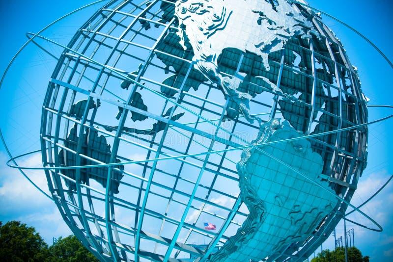 Всемирнаяо ярмарка Unisphere стоковое изображение
