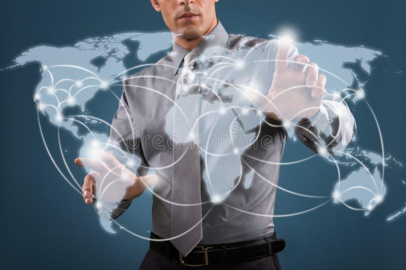 Всемирная сеть стоковая фотография