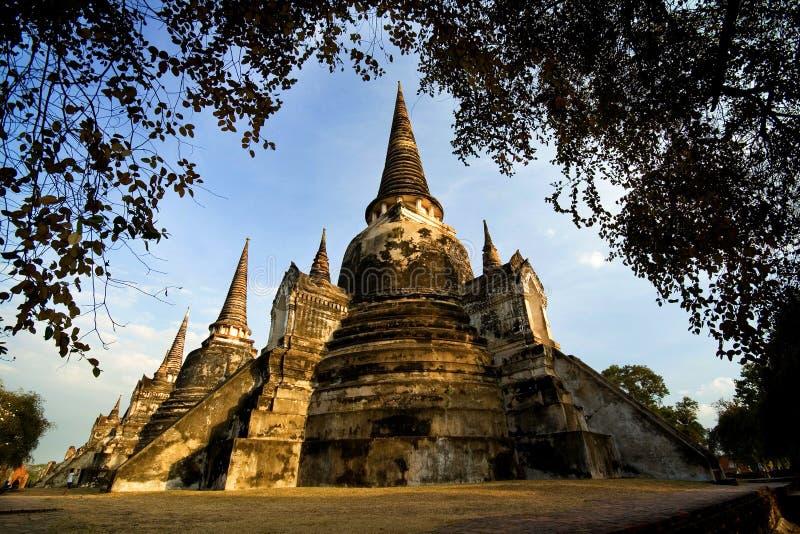 Всемирное наследие Таиланда стоковое фото