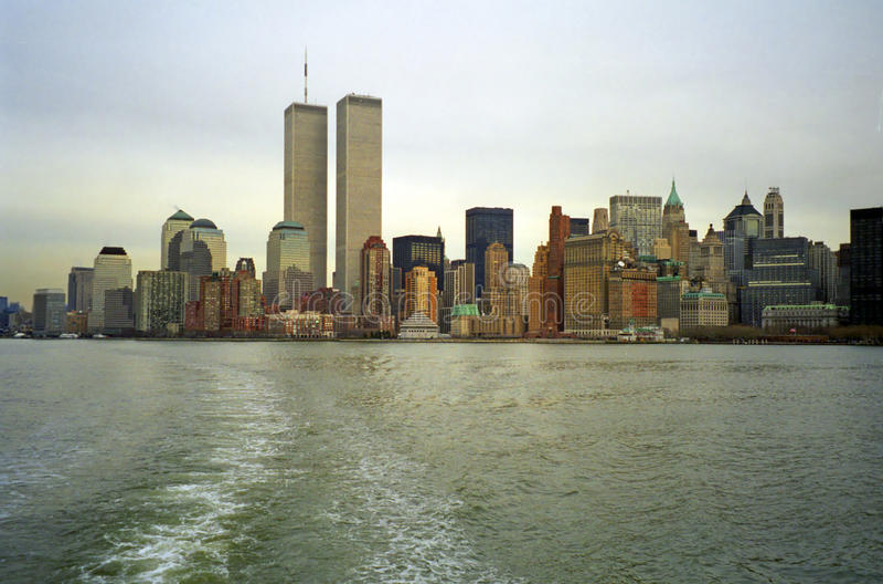 Всемирный торговый центр, Нью-Йорк, США стоковое фото rf