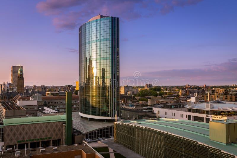 Всемирный торговый центр Роттердам стоковая фотография