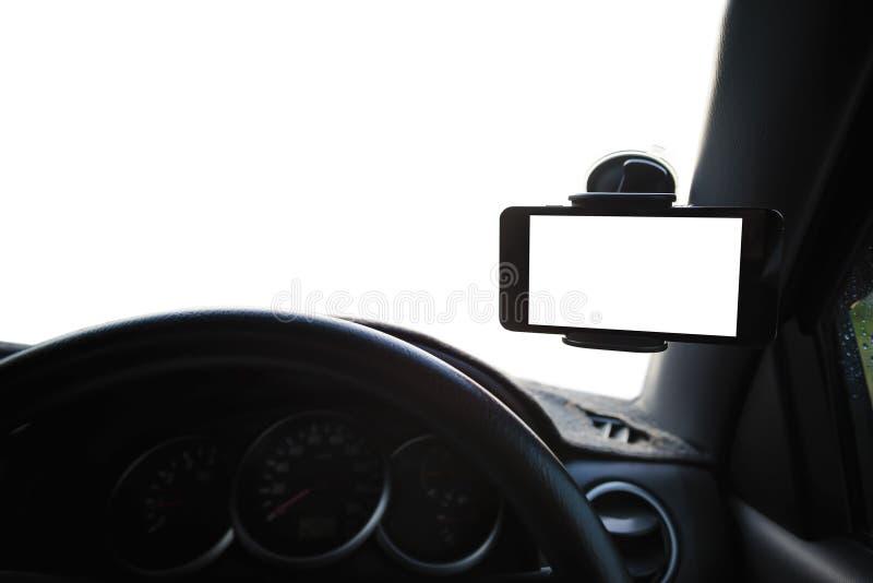 Всеобщий держатель держателя для умных телефонов стоковое фото rf