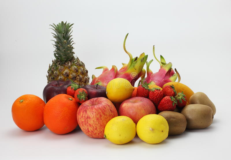 Все виды плодоовощ стоковое изображение
