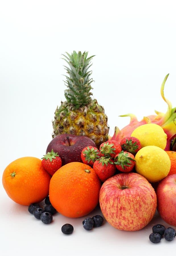 Все виды плодоовощ стоковое изображение rf