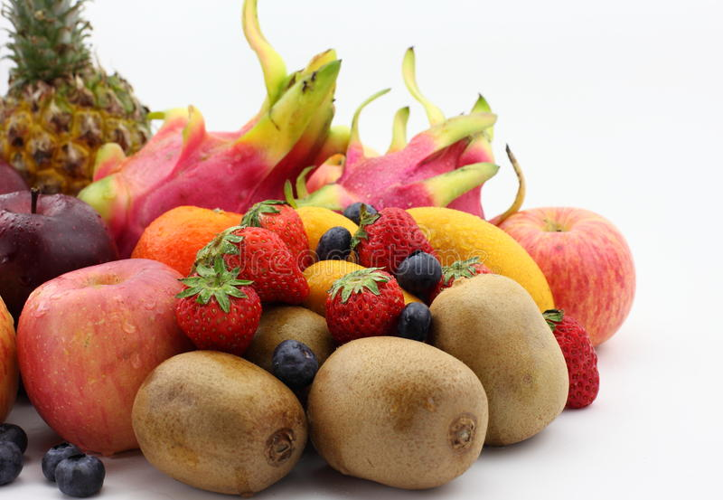 Все виды плодоовощ стоковые фото