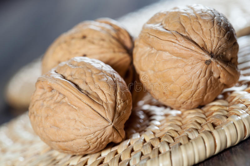 Все грецкие орехи стоковое изображение rf