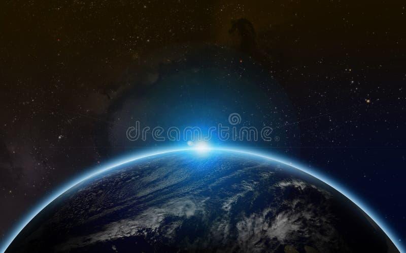 Вселенная Starfield стоковые фотографии rf