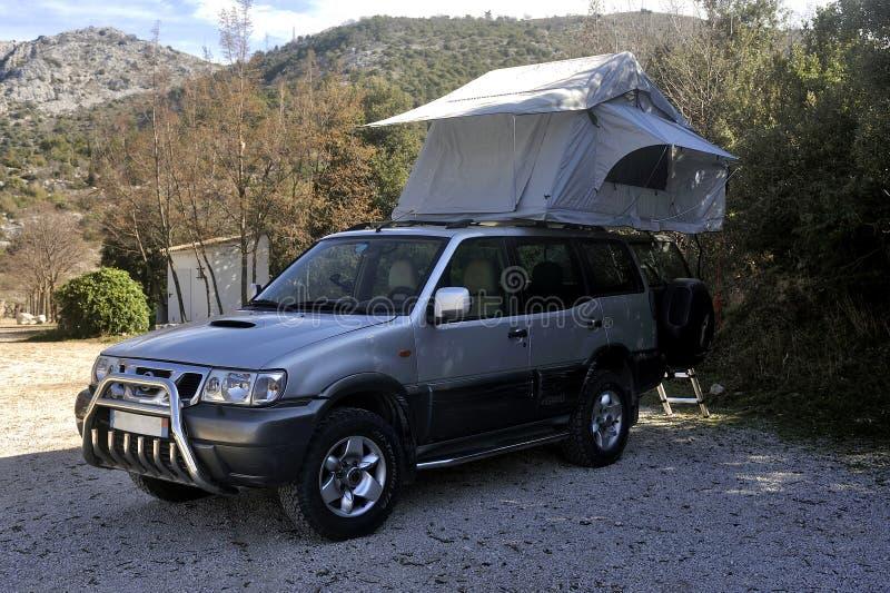 Все машины с крышей с палаткой стоковые изображения rf