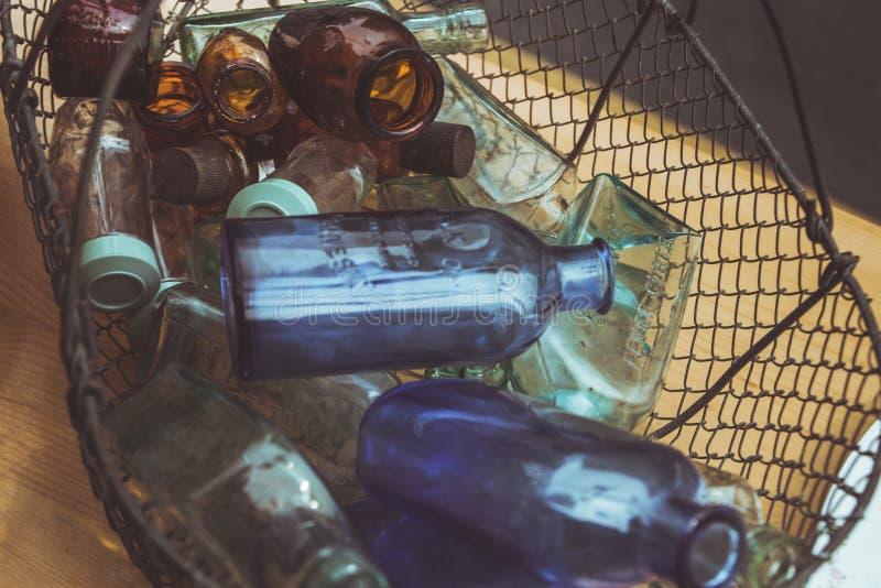 Все разлитые по бутылкам вверх стоковое фото rf