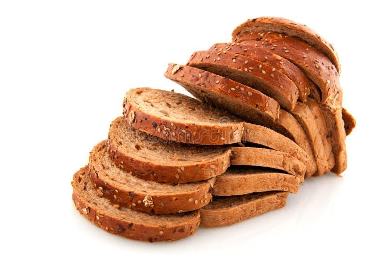 все хлеба отрезанное едой стоковые изображения