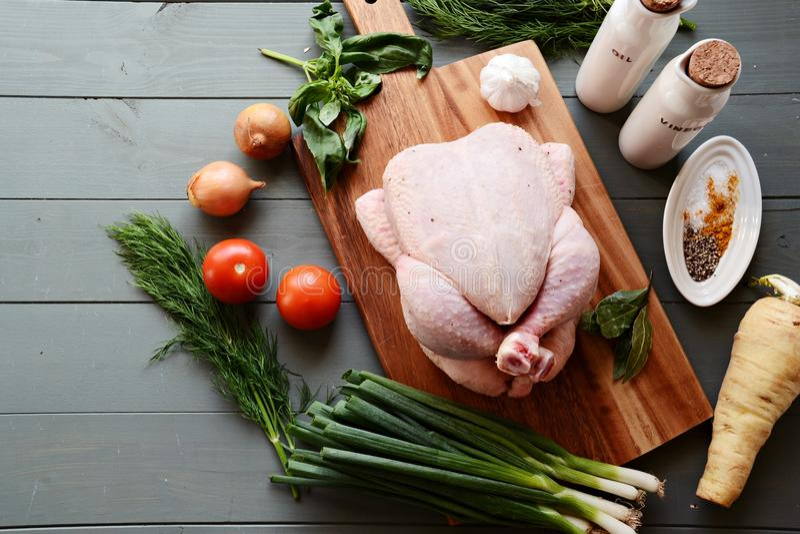 все цыпленка сырцовое стоковые изображения