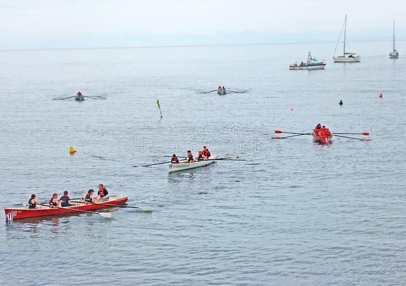 Все чемпионаты rowing Ирландии стоковые фотографии rf
