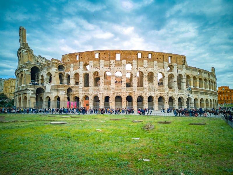 Все Colosseum в Риме в Италии стоковые изображения