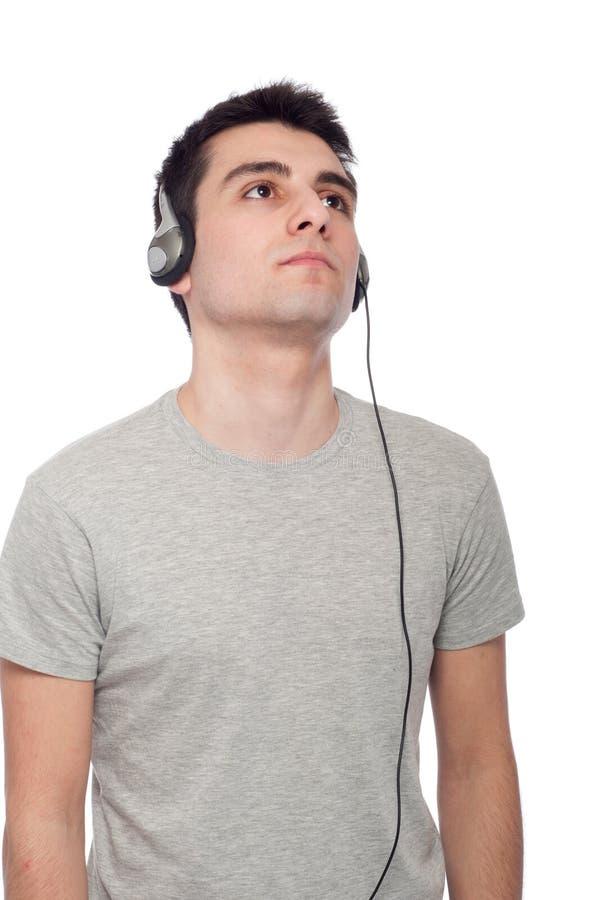 Download вскользь слушая нот человека Стоковое Фото - изображение насчитывающей выражение, мирно: 18383588