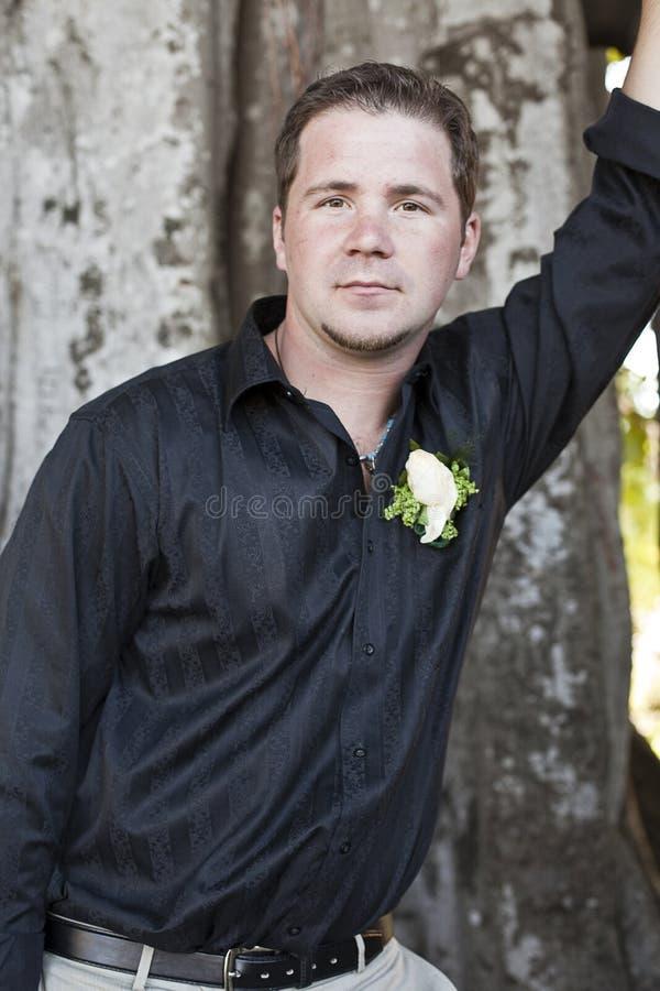 вскользь groom стоковые фото