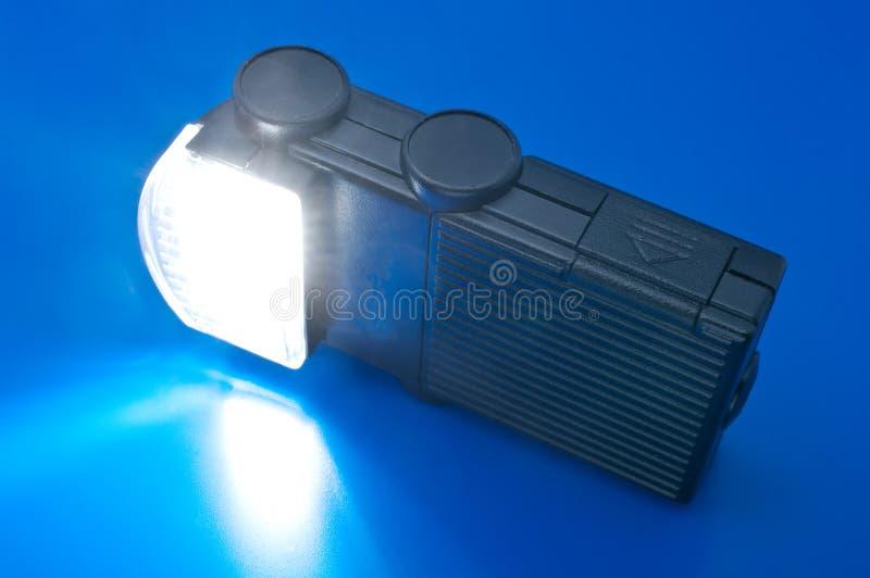 вспышка включения камеры с малого стоковые изображения rf
