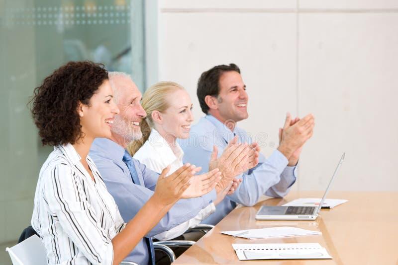 встреча бизнес-группы стоковое фото rf