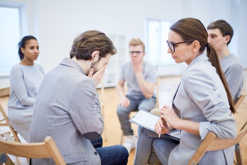 Встреча для менеджеров стоковая фотография