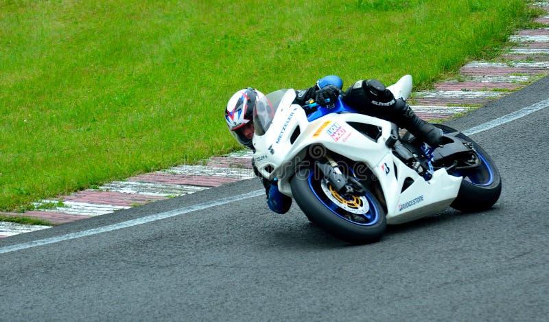 Встреча катания мотоцикла в центре гонки WallraV стоковые фотографии rf