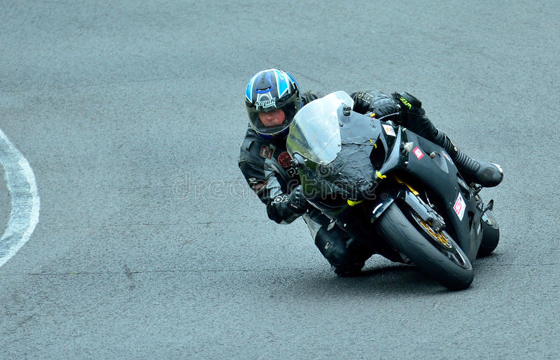 Встреча катания мотоцикла в центре гонки WallraV стоковые изображения rf