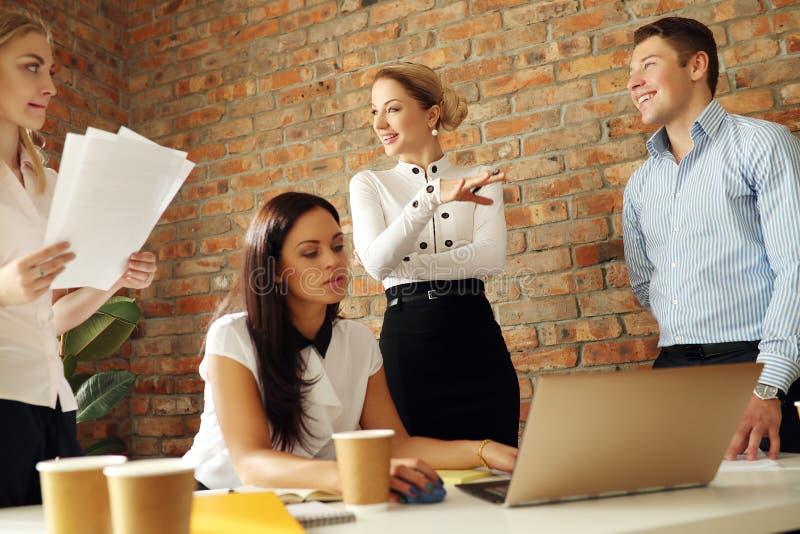 Встреча офиса стоковое фото