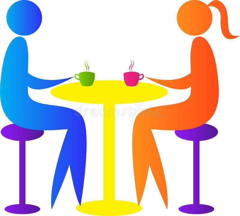 Встреча пар бесплатная иллюстрация