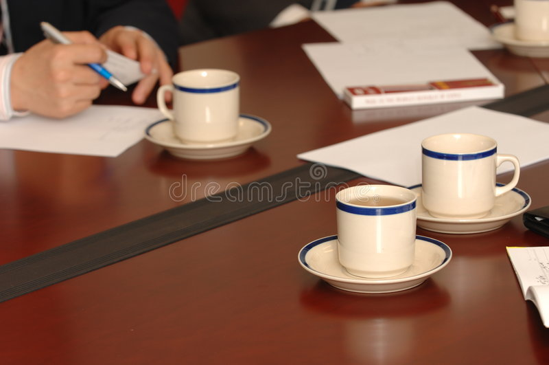 встреча стоковое фото rf