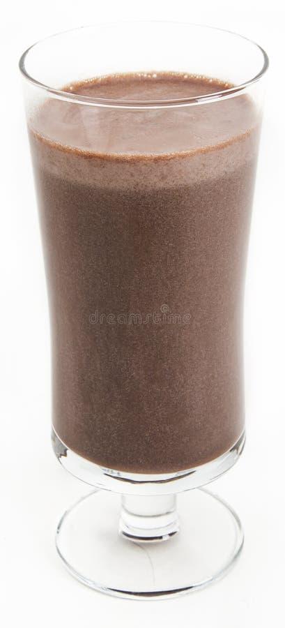 Встряхивание шоколада стоковые фото