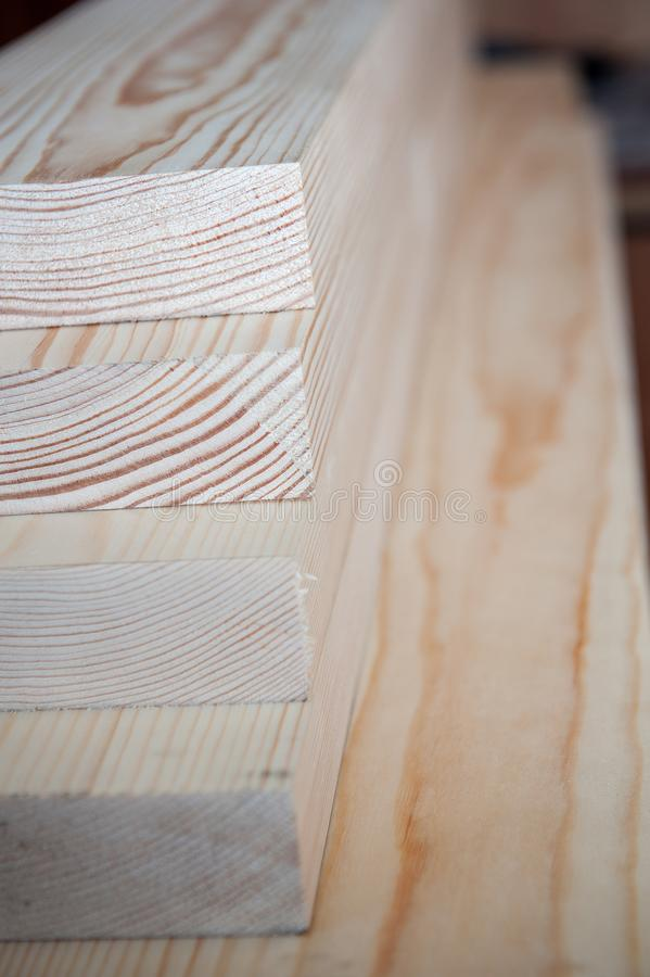 всходит на борт древесины Тимберс в запасе стоковое фото rf