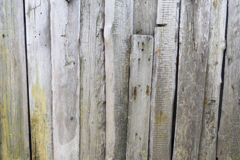Всходит на борт ограждать клети пригвозженный загородкой старый винтажный деревянный стоковая фотография rf
