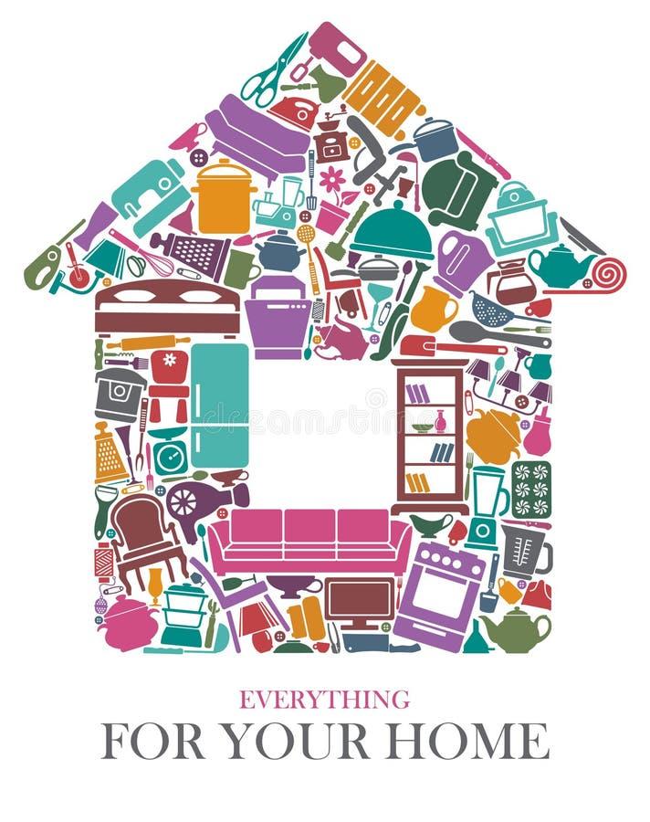 вся дом бесплатная иллюстрация