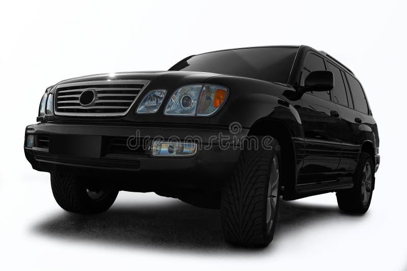 вся местность черноты автомобиля стоковая фотография