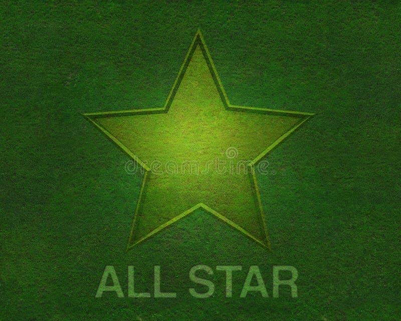 Download вся текстура звезды зеленого цвета травы Иллюстрация штока - иллюстрации насчитывающей все, чемпион: 18390440