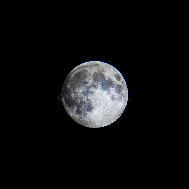 Вся ясная луна стоковые изображения rf