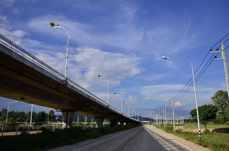 Второй мост приятельства Тайск-Мьянмы стоковое фото