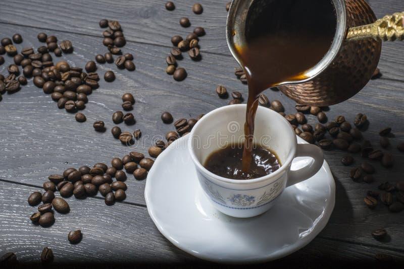 Втройне кофе смешивания стоковые фотографии rf