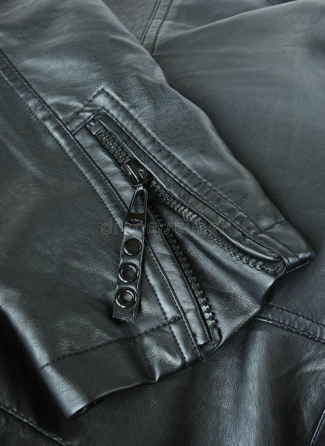 Втулка кожаной куртки стоковые изображения