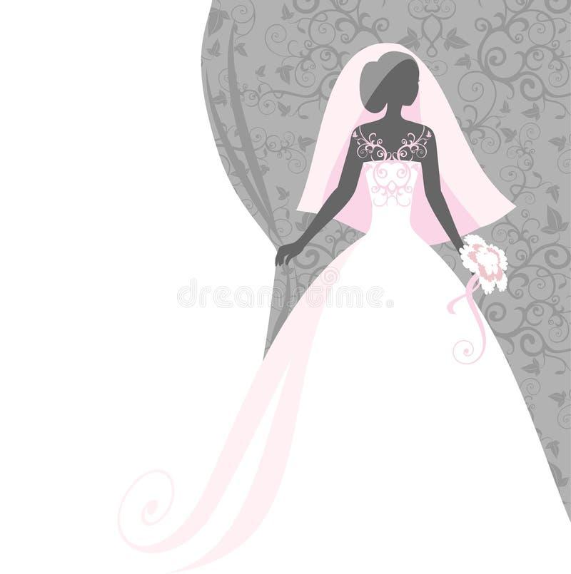 вуаль невесты бесплатная иллюстрация