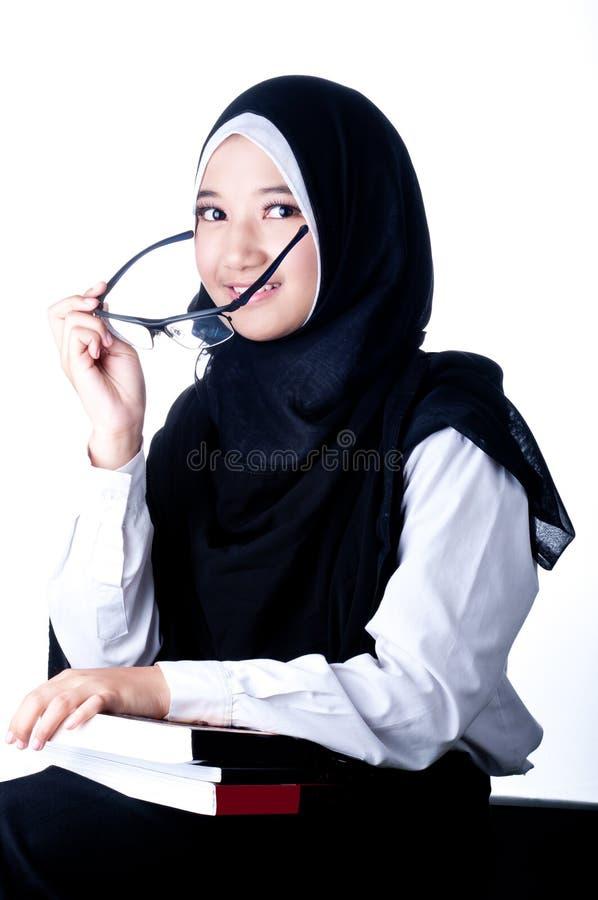 Вуаль женщины страны Индонезии стоковое изображение