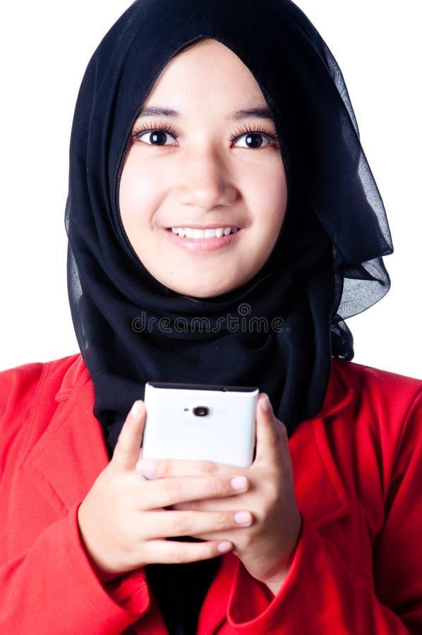 Вуаль женщины страны Индонезии стоковое изображение rf