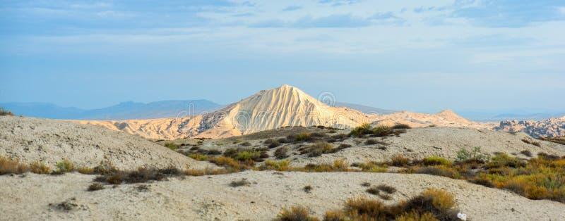 Вулканы грязи Азербайджана стоковое фото