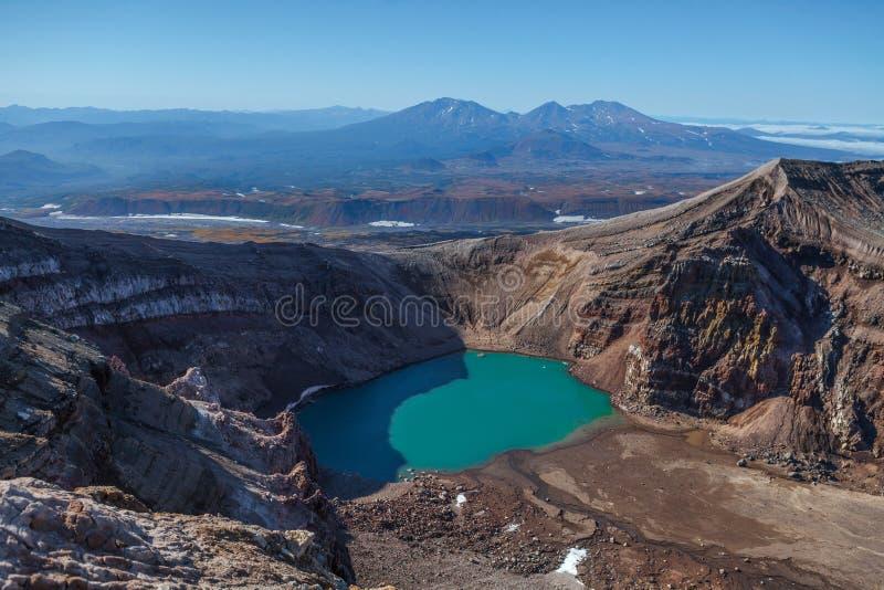 Вулканы Камчатки стоковые изображения