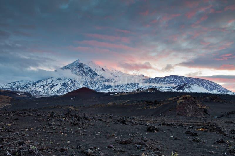 Вулканы Камчатки стоковое фото rf