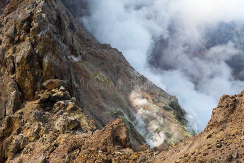 Вулканы Камчатки стоковое изображение rf