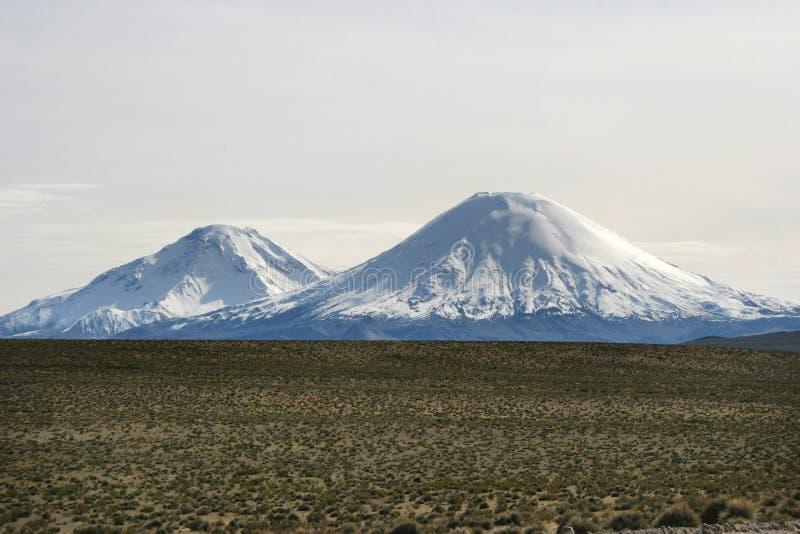 вулканы cotocotani стоковые фото