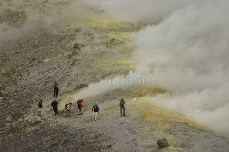 вулкан Италии Сицилии стоковые изображения rf