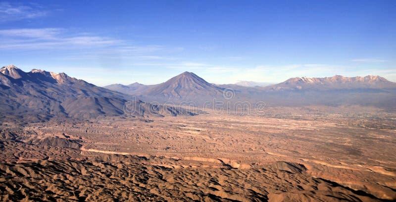 Вулкан El Misti стоковое изображение