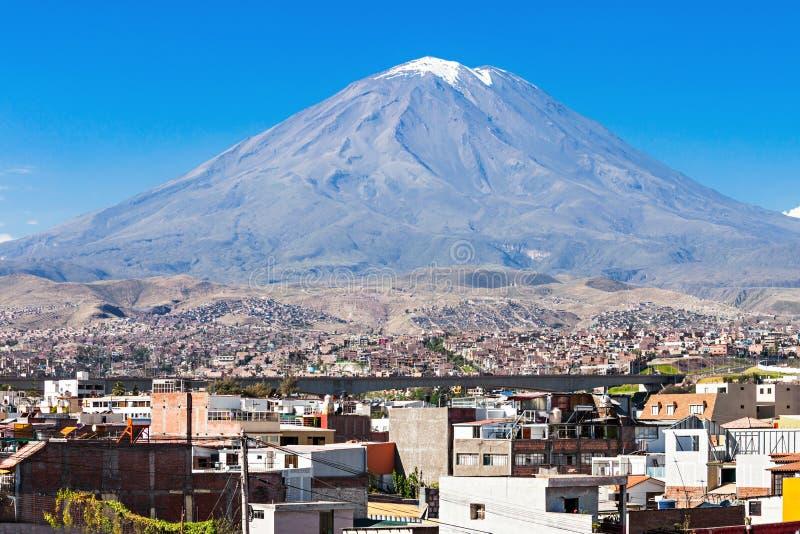 Вулкан Misti стоковое изображение rf
