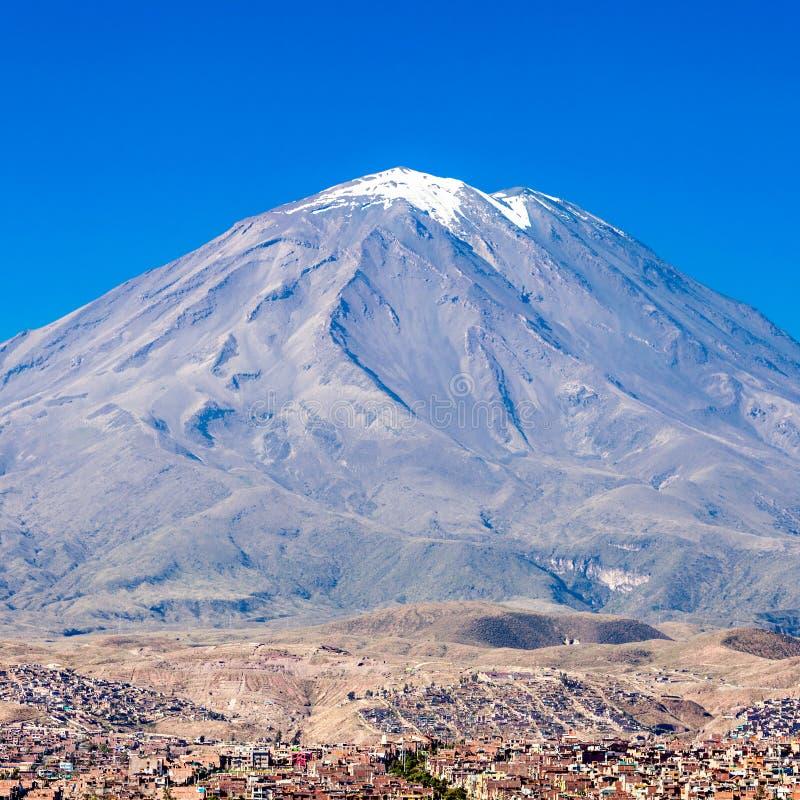 Вулкан Misti стоковые изображения rf